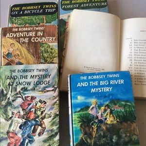 Vintage Bobbsey Twins Classics 6 books 1957-63